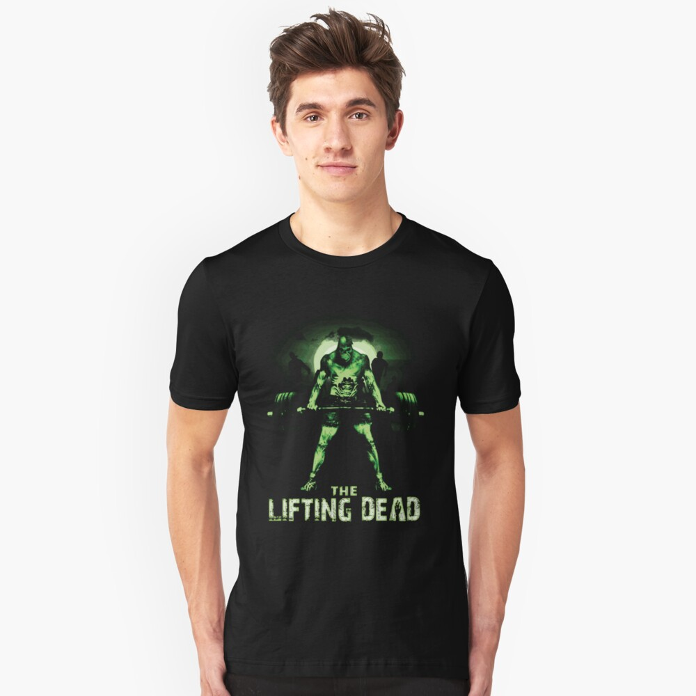 The Lifting Dead Unisex T-Shirt Front