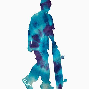 SKATER Blue by NoOneCares