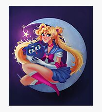 Sailor Moon  Photographic Print