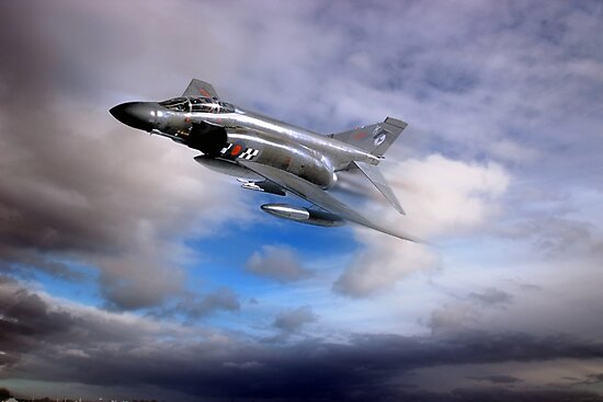 Royal Air Force F4 Phantom by Bob Martin