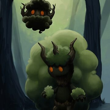 Fluffy Forest Ghosts by PokeFuseMe