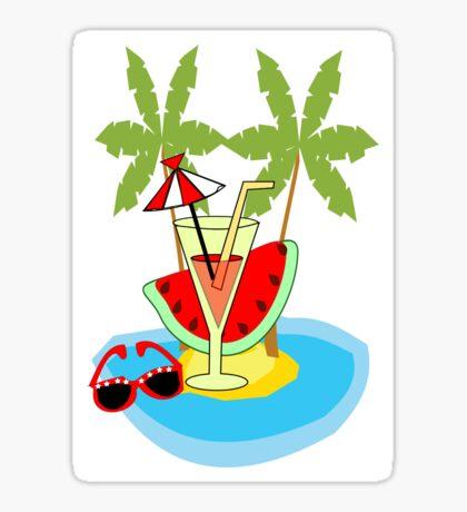 summer time ( 2774 Views) Sticker