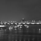 Manhattan Bridge - New York City by Engagephotos23