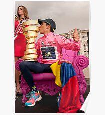 Nairo Qunitana - Giro d'Italia Champion Poster