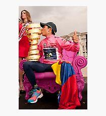 Nairo Qunitana - Giro d'Italia Champion Photographic Print
