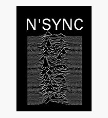 N'SYNC - Unknown Pleasures Photographic Print