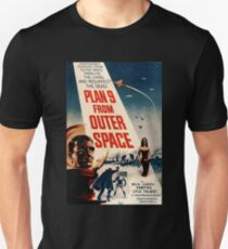 Plan 9 From Outer Space Retro Movie Pop Culture Art T-Shirt