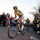 Anberto Contador by Eamon Fitzpatrick