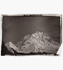 Ahornspitze in Austria Poster
