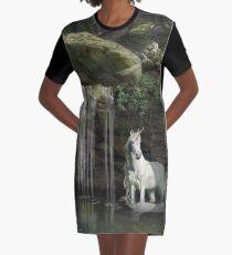 Pause Graphic T-Shirt Dress