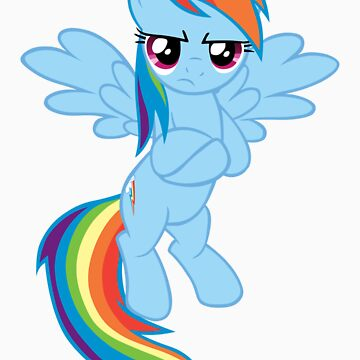 Rainbow Pony T-shirt by BenceM