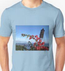 Hawaii Tiki and Flowers T-Shirt