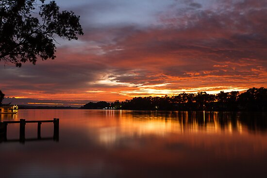 Silky Sunrise by Dave  Hartley
