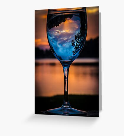 Cheers to the Sun Rise Greeting Card