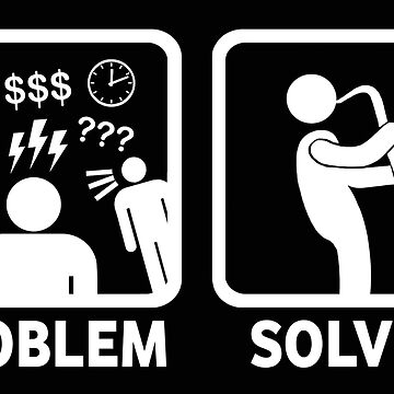 Lustiges Saxophon-Problem löste T-Shirt von BeyondEvolved