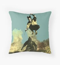 Field of Fire Throw Pillow