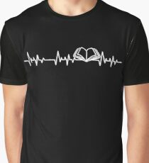 BOOKS HEARTBEAT Graphic T-Shirt