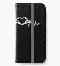 BOOKS HEARTBEAT iPhone Wallet/Case/Skin