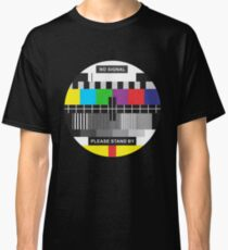 TV No Signal Classic T-Shirt