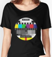 TV No Signal Women's Relaxed Fit T-Shirt