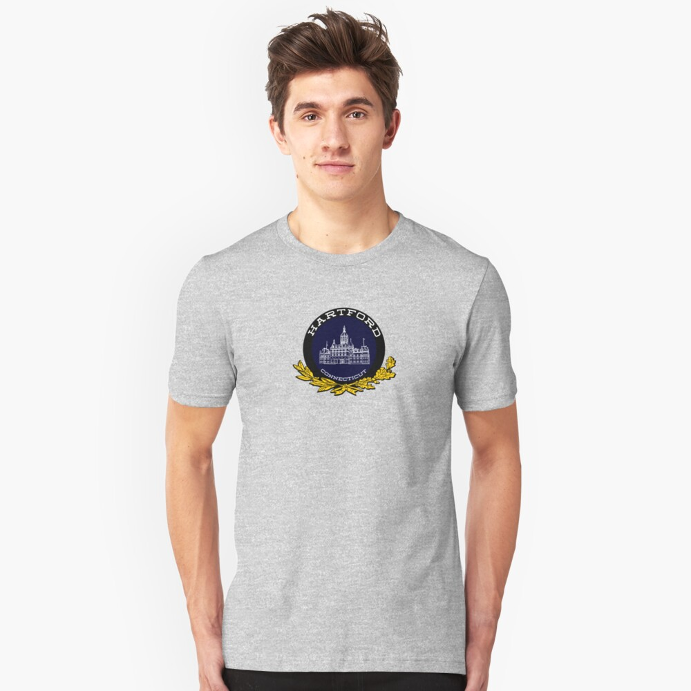 Hartford, Connecticut Unisex T-Shirt Front