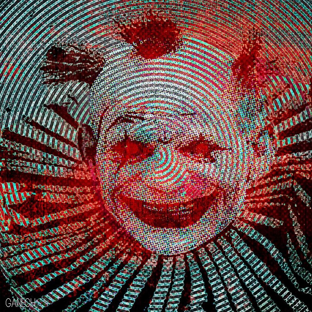Le clown by ganechJoe