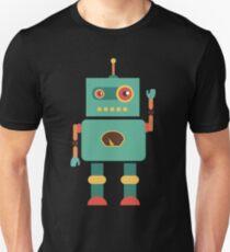 Fun Retro Robot Art T-Shirt