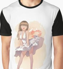 Hottie in Character. Marilyn Monroe. Graphic T-Shirt