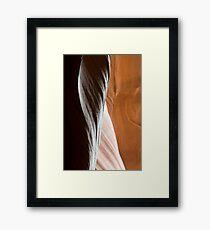 Sandstone Abstract Framed Print