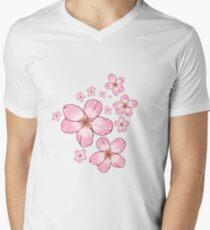 Sakura Blossoms  Men's V-Neck T-Shirt