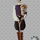Steampunk Skeleton by artwaste