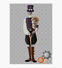 Steampunk Skeleton Photographic Print