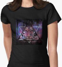 Wood Tiger Women's Fitted T-Shirt