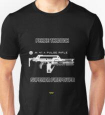 USCM - Peace through superior firepower Unisex T-Shirt