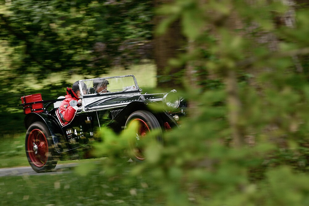 The Three Castles Welsh Trial 2014 - Riley MPH -ERA by Three-Castles