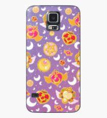 Sailor Moon Locket Pattern Case Hülle & Klebefolie für Samsung Galaxy