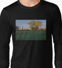Grasslands at Golden Hour Long Sleeve T-Shirt
