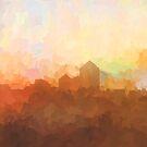 Albuquerque Skyline - In den Wolken von Marlene Watson