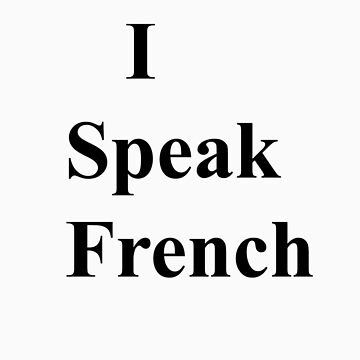 i speak french bold by ispeak