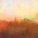 Alexandria, Virginia Skyline - In den Wolken von Marlene Watson