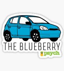 "Psych - ""The Blueberry"" Sticker"
