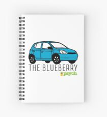 """Psych - """"The Blueberry"""" Spiral Notebook"""