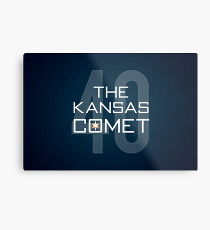 The Kansas Comet Metal Print