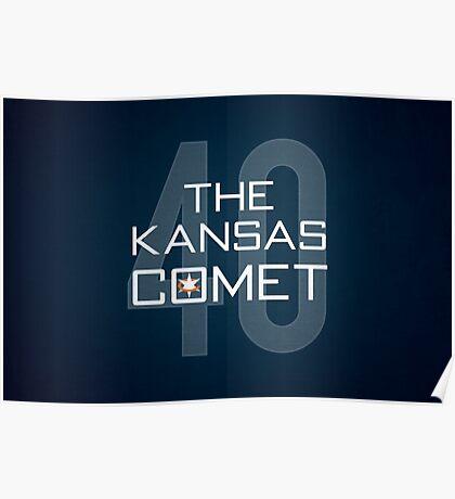 The Kansas Comet Poster