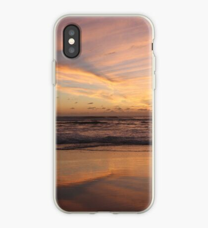 Feathered Sunset iPhone Case