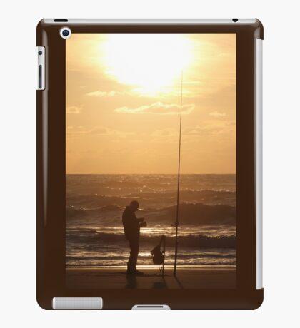 Fishing at Sunset  iPad Case/Skin