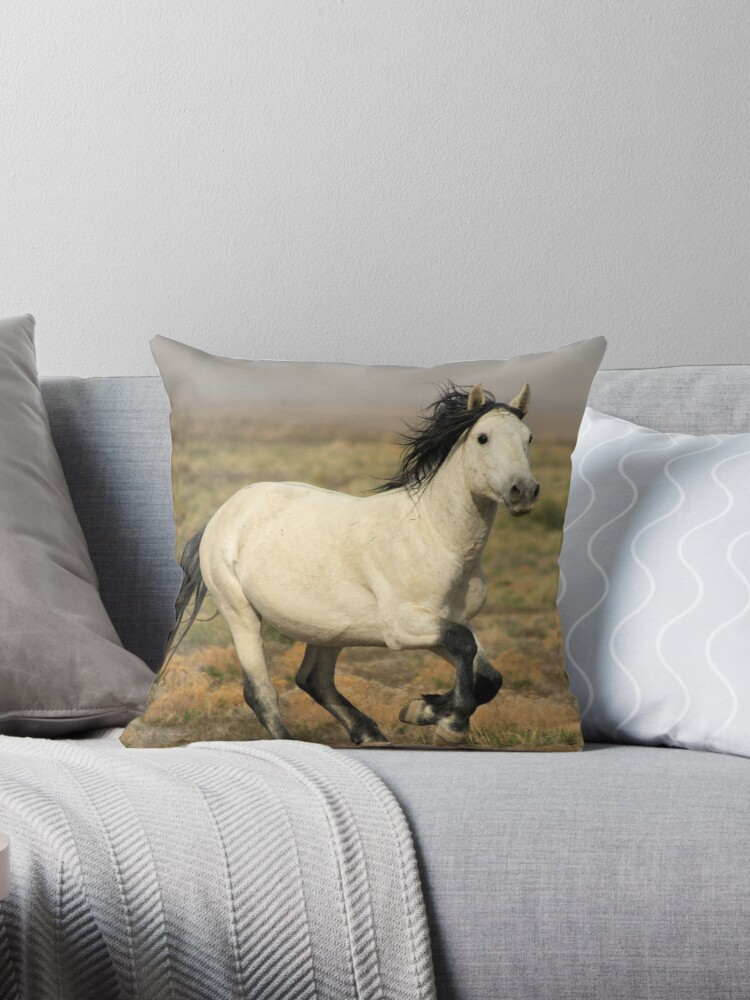 Prance With Me Throw Pillow & Tote Bag by Gene Praag