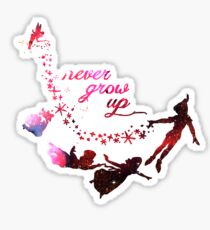 Cute Never Grow Up  Sticker