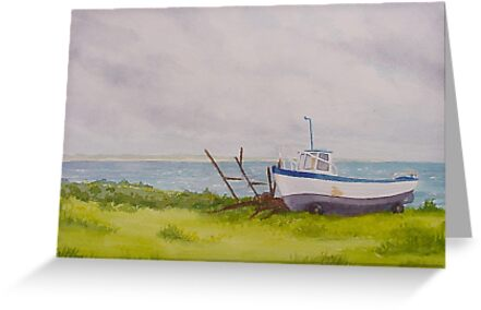 Boat at Blacksod by Catherine091