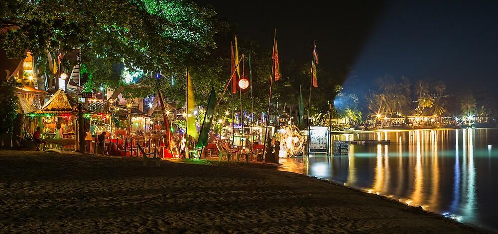 Chaweng Beach - Koh Samui by Frank Moroni